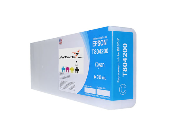 Epson T804200 UltraChrome HDX Ink Cartridge Cyan