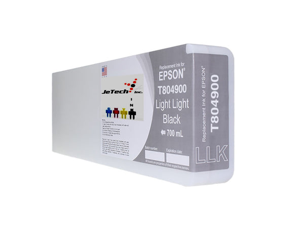 Epson T804900 UltraChrome HDX Ink Cartridge Light Light Black