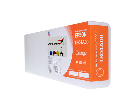 Epson T804A00 UltraChrome HDX Ink Cartridge Orange
