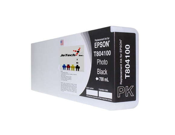 Epson T804100 UltraChrome HDX Ink Cartridge Photo Black
