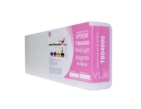 Epson T804600 UltraChrome HDX Ink Cartridge Vivid Light Magenta