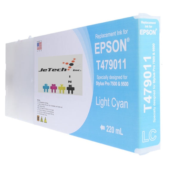 Epson T479 Compatible Light Cyan 220ml Ink Cartridges
