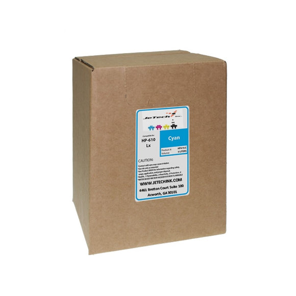HP610 latex 3000ml ink box cyan