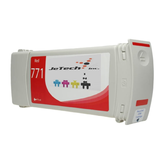 InXave HP771 CE038A / B6Y16A Chromatic Red ink cartridge