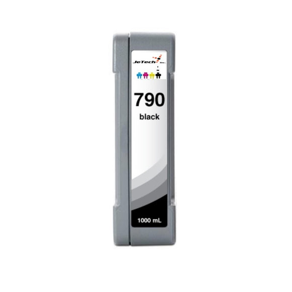 HP790BK CB271A 1000mL compatible ink cartridge Black