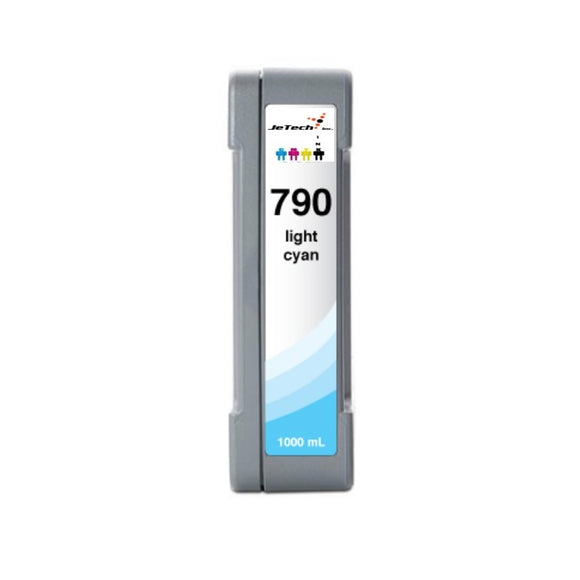 HP790LC CB275A 1000mL compatible ink cartridge Light Cyan