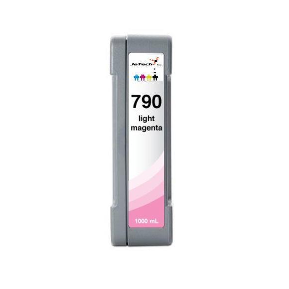 HP790LM CB276A 1000mL compatible ink cartridge Light Magenta