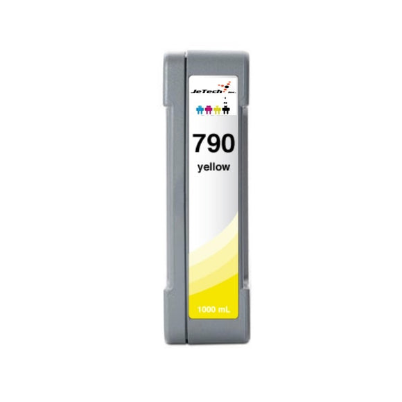 HP790Y CB274A 1000mL compatible ink cartridge Yellow