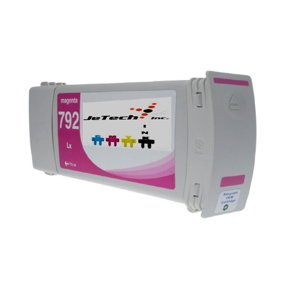 HP792 CN707A Compatible Latex Ink Cartridge Magenta