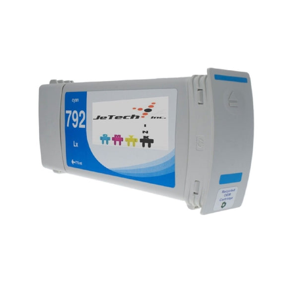 HP792 CN706A Compatible Latex Ink Cartridge 775ml Cyan