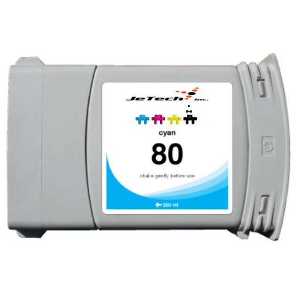 HP80 C4846A 350ml Cartridge Cyan