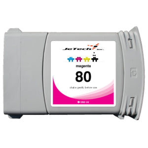 HP80 C4847A 350ml Cartridge Magenta