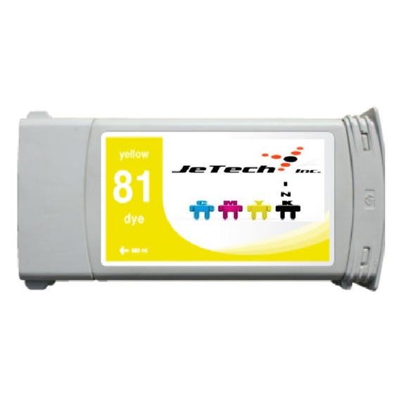 HP81 (C4933A) 680ml Yellow