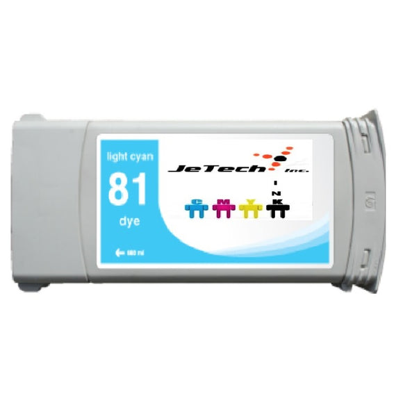 HP81 (C4934A) 680ml Light Cyan