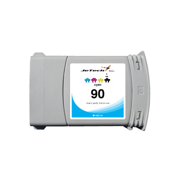 HP90 C5061A 400ml compatible ink cartridge cyan