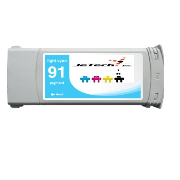 HP91 Light Cyan C9470A pigment 775ml ink cartridge