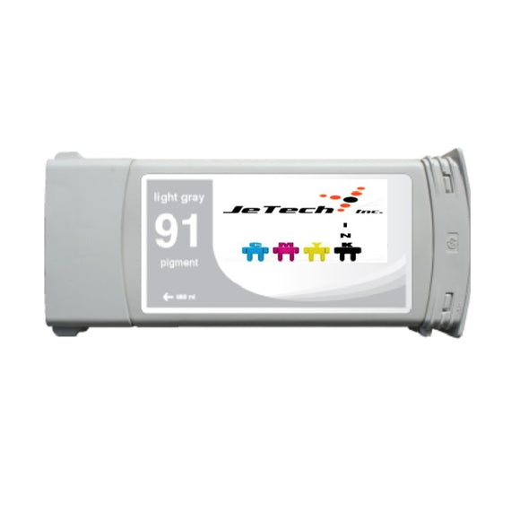 HP91 Light Gray C9466A pigment 775ml ink cartridge