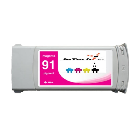 HP91 Magenta C9468A pigment 775ml ink cartridge