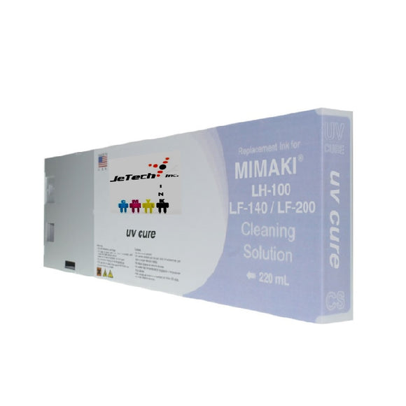 Mimaki LH100 LF140 LF200 UV LED cleaning solution 220ml