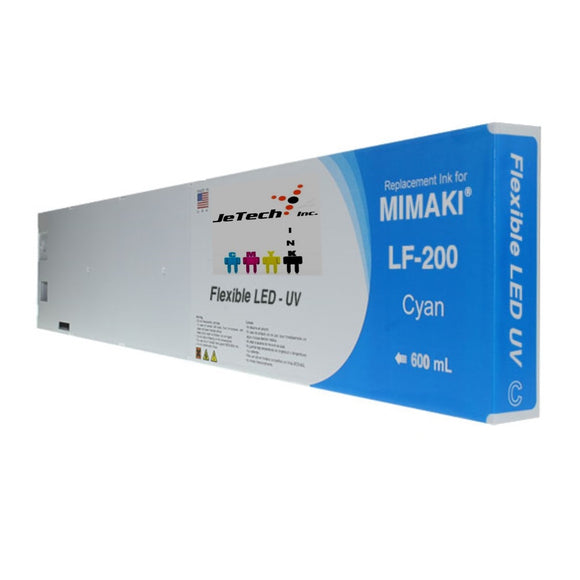 Mimaki LF-200 SPC-0591 600ml UV LED ink cartridge Cyan