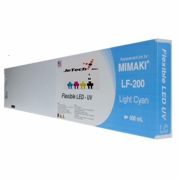 Mimaki LF-200 SPC-0591 600ml UV LED ink cartridge Light Cyan