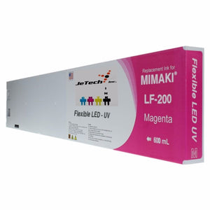 Mimaki LF-200 SPC-0591 600ml UV LED ink cartridge magenta