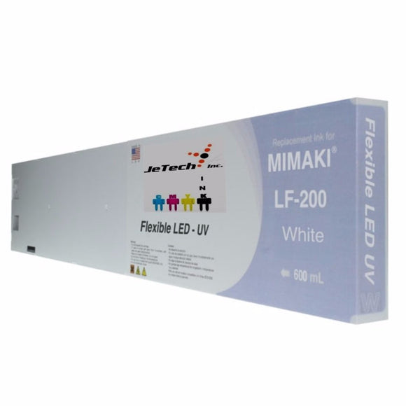 Mimaki LF-200 SPC-0591 600ml UV LED ink cartridge white