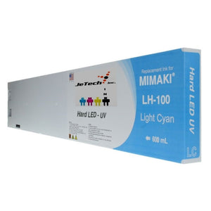 Mimaki LH-100 SPC-0597LC UV LED Ink Cartridge 600ml Light Cyan