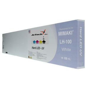 Mimaki LH-100 SPC-0597W UV LED Ink Cartridge 600ml White