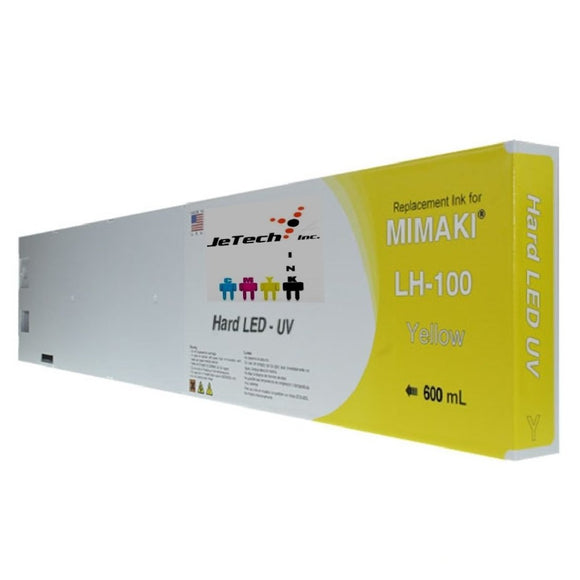 Mimaki LH-100 SPC-0597Y UV LED Ink Cartridge 600ml Yellow