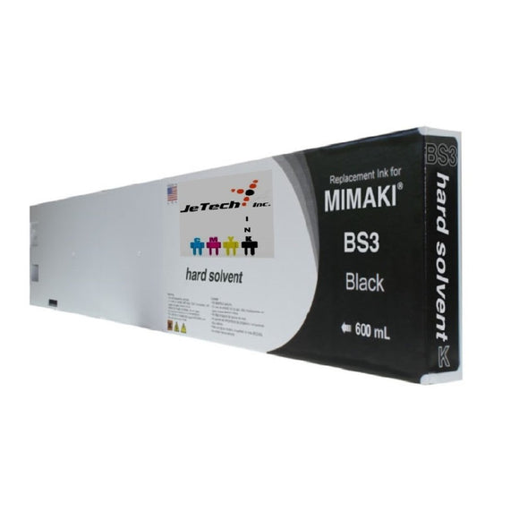 Mimaki BS3 SPC-0667K 600mL ink cartridge Black
