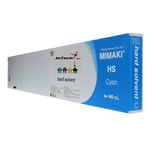 Mimaki HS solvent SPC-0473 440ml ink cartridge cyan