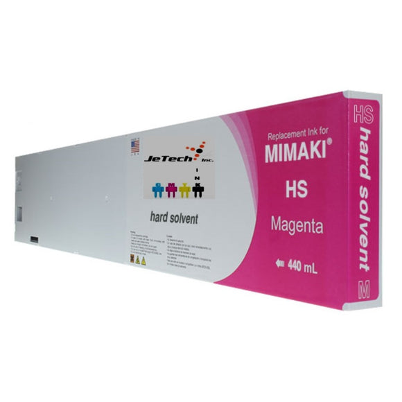 InXave Mimaki HS solvent SPC-0473 440ml ink cartridge magenta