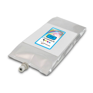 Mutoh 1l dye sublimation compatible ink bag cyan