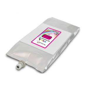 Mutoh 1l dye sublimation compatible ink bag Magenta