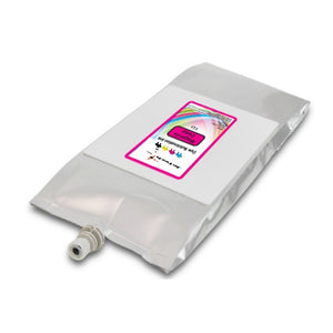 Mutoh 1l dye sublimation compatible ink bag Magenta Deep