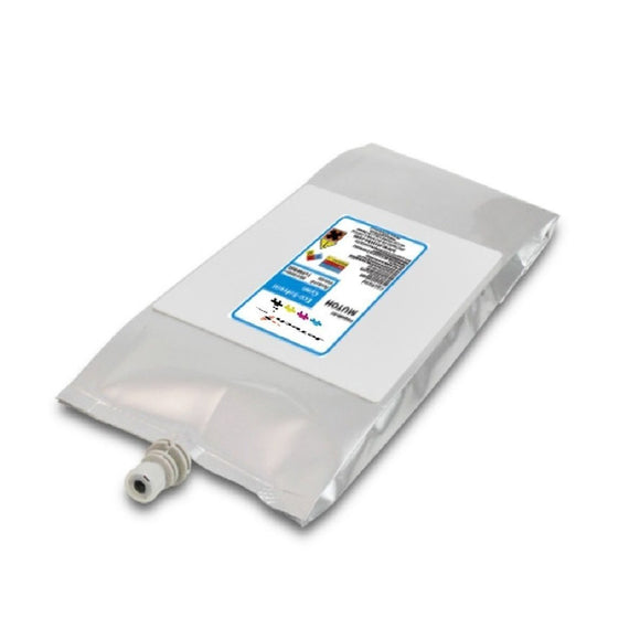Mutoh 1L Eco Solvent Eco Ultra compatible bag cyan