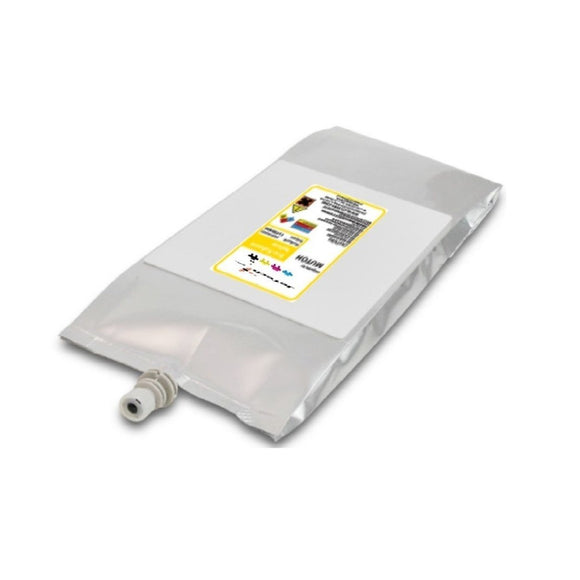 Mutoh 1L Eco Solvent Eco Ultra compatible bag yellow