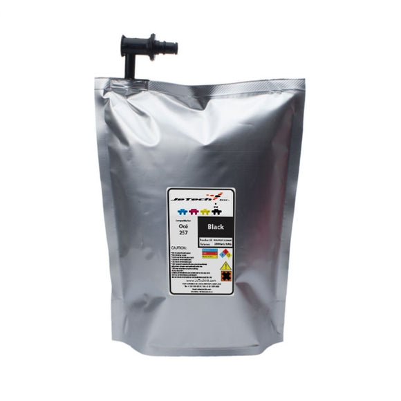 Oce Arizona IJC-257 2L UV ink bag 3010112200 Black