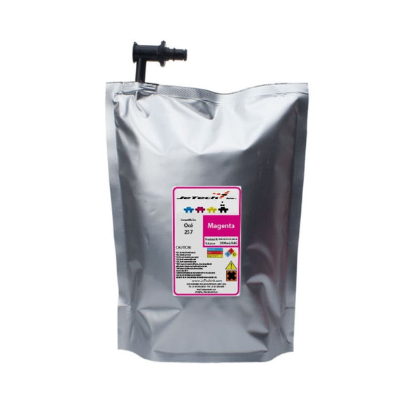 Oce Arizona IJC-257 2L UV ink bags 3010112202 Magenta