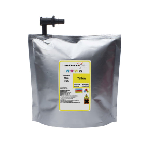oce arizona 318gl uv ink bag ijc-256 800ml yellow