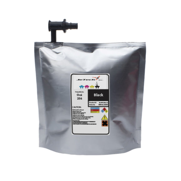 oce arizona 318gl uv ink bag ijc-256 800ml black