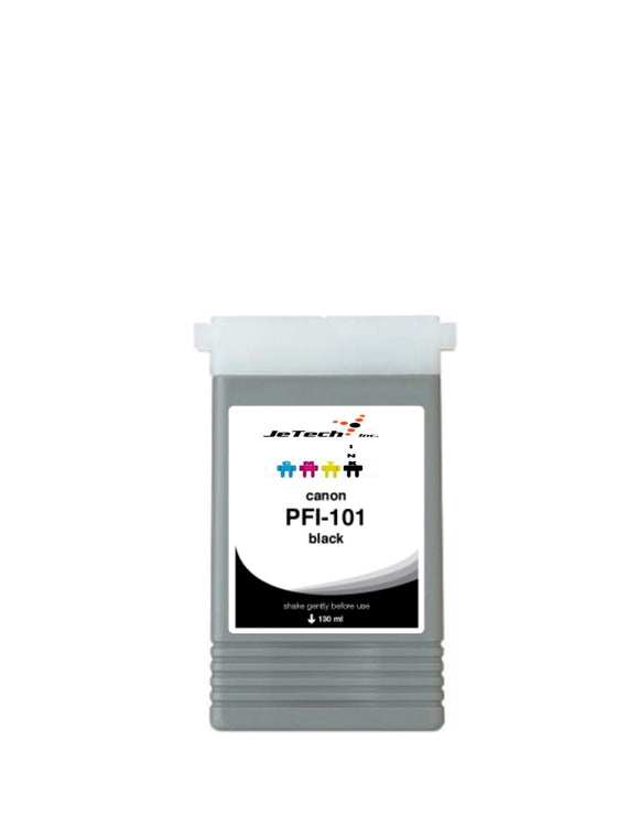 Canon PFI-101BK Black 130mL Ink cartridge