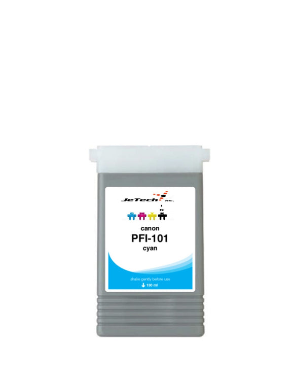Canon PFI-101C Cyan 130mL Ink cartridge