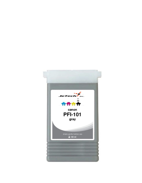 Canon PFI-101GY Gray 130mL Ink cartridge