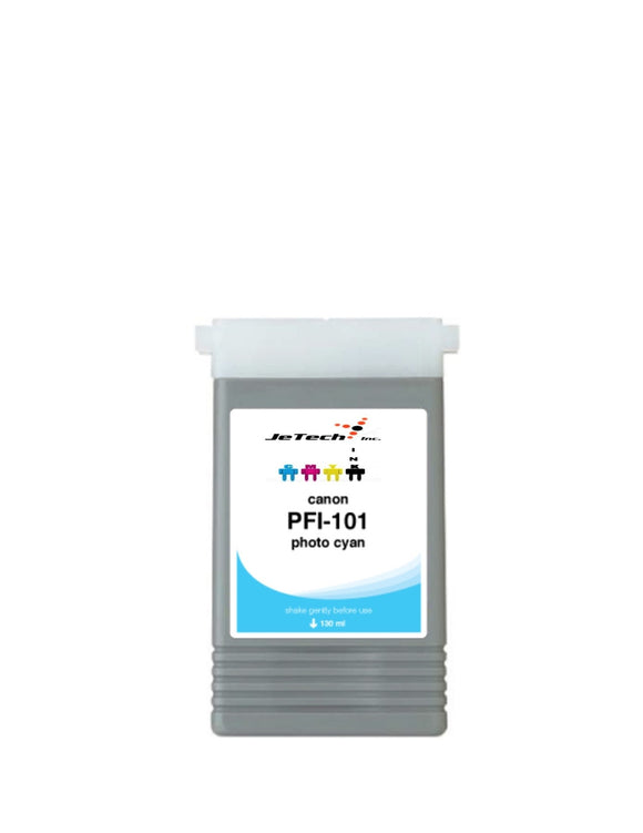 Canon PFI-101PC Photo Cyan 130mL Ink cartridge