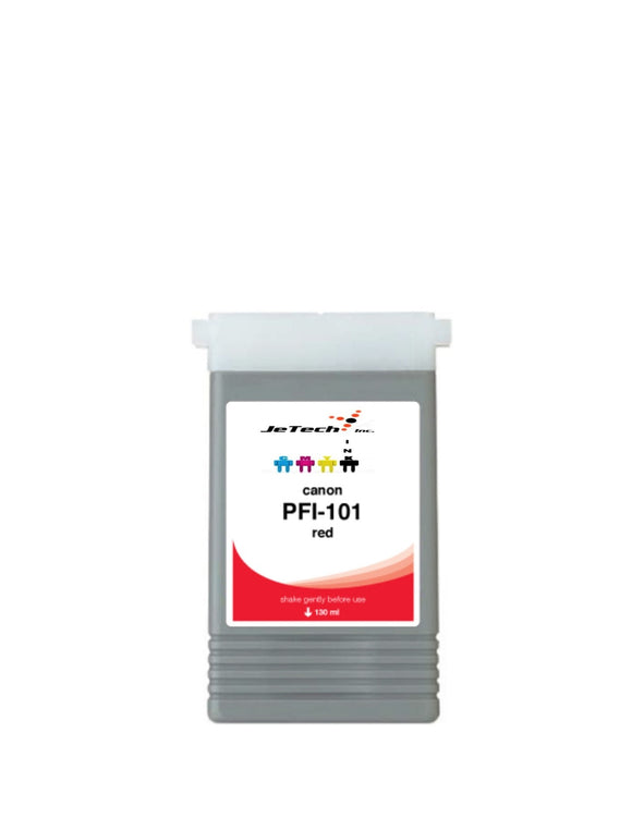 Canon PFI-101R Red 130mL Ink cartridge