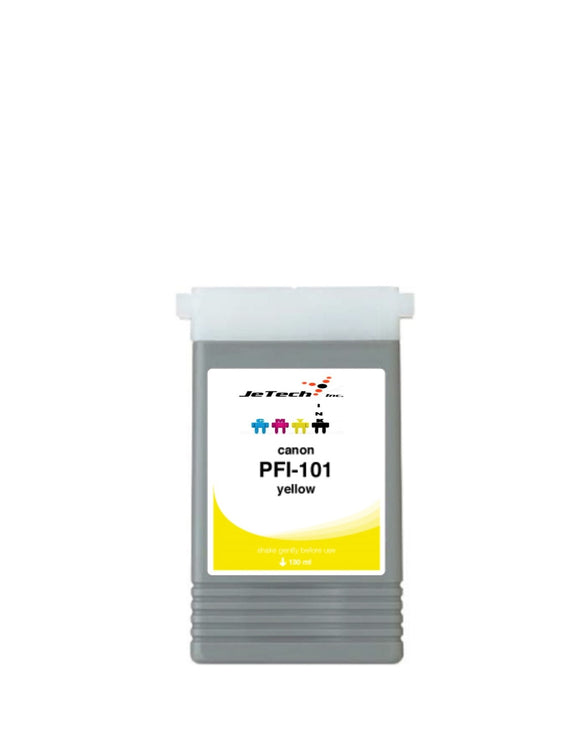 Canon PFI-101Y Yellow 130mL Ink cartridge