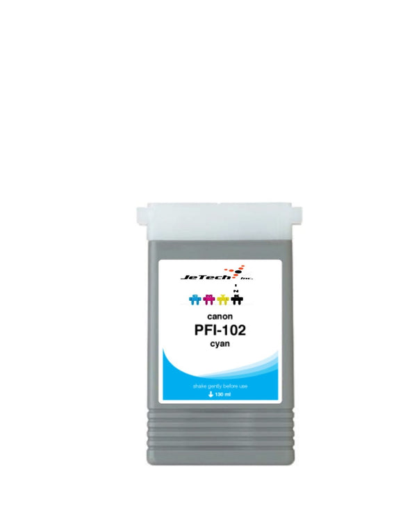 Canon PFI-102C Cyan 130mL Ink cartridge