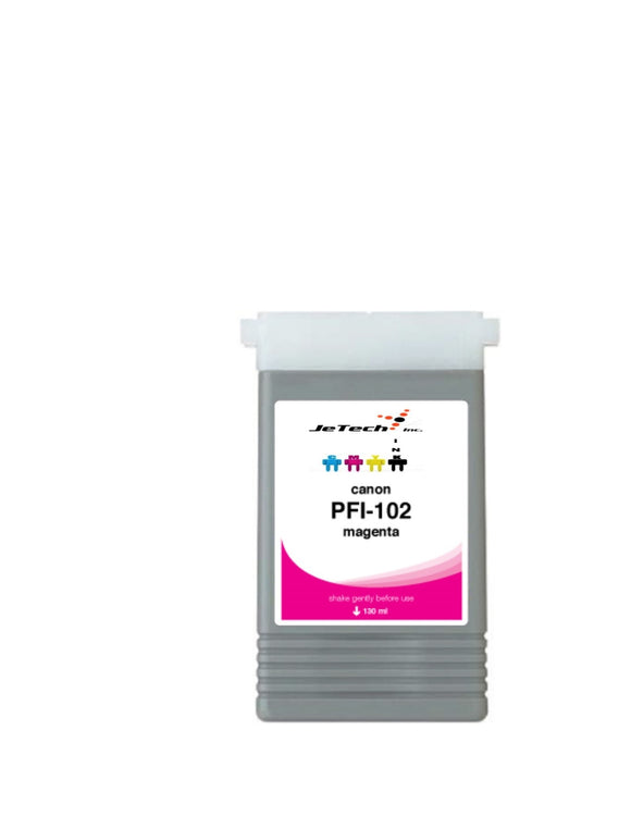 Canon PFI-102M Magenta 130mL Ink cartridge